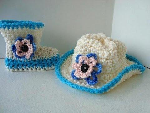 cowboy hat crochet sombrero vaquero pattern # 30