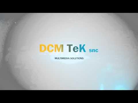 Benvenuti nel canale youtube ufficiale di DCM TeK Multimedia Solution SNC