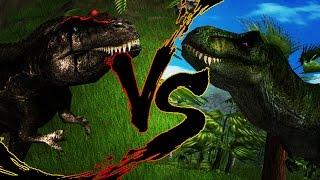 DINO BATTLES - Carcharodontosaurus vs. Tyrannosaurus