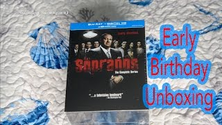 Early Birthday Gift- The Sopranos Complete Series Blu-Ray Unboxing