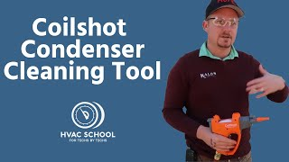 Coilshot Condenser Cleaning Tool