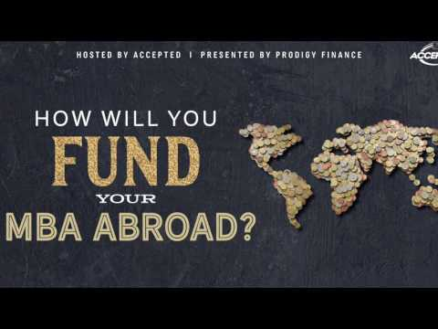 How Will You Fund Your MBA Abroad?