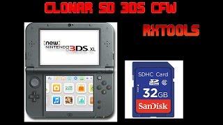 CLONAR EMUNAND CAMBIAR SD 3DS CFW RXTOOLS