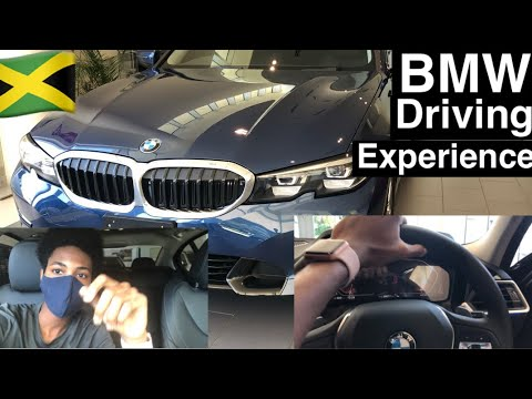 Driving Experience In The New 2021 BMW 330i Sport|Jamaica🇯🇲