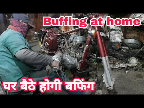 Buffing at home | ncr motorcycles |