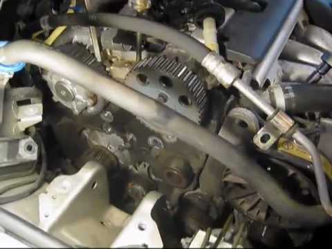 MG 48  Volvo S40 Timing Belt Replacement  YouTube