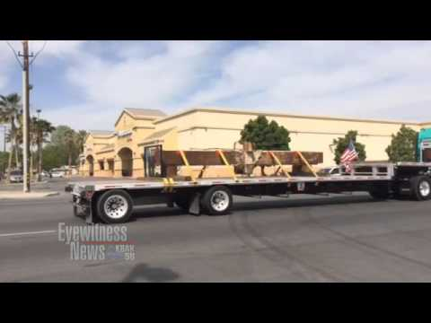 Part of World Trade Center makes its way to Bakersfield for 9/11 memorial