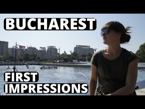 BUCHAREST ROMANIA FIRST IMPRESSIONS - British Couple Travel Romania