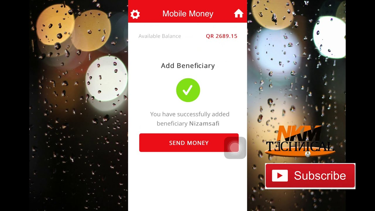 How To Send Money By Ooredoo Mobile Gram From Qatar In Hindi