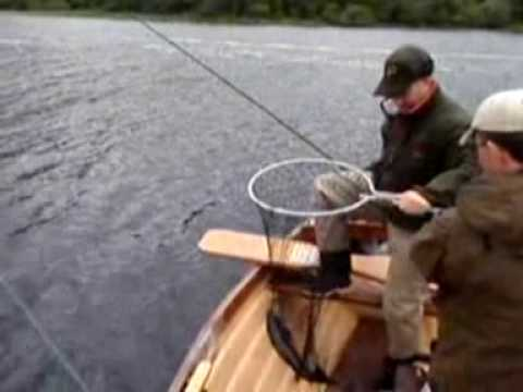 Fly Fishing For Salmon And Sea Trout On Glen Lough Donegal Ireland