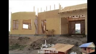 видео строительство деревянных дачных домов