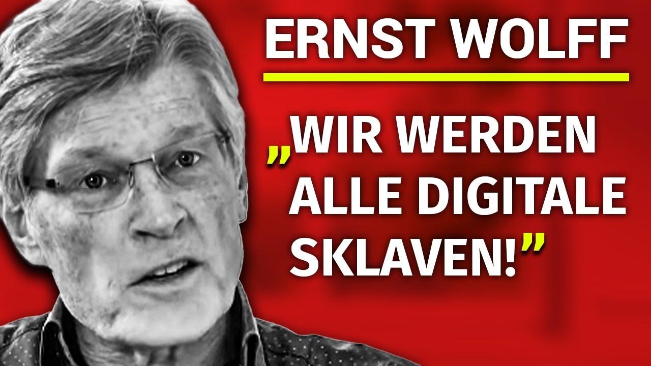 """""""Es geht darum alle Menschen biometrisch zu erfassen"""" – Ernst Wolff"""