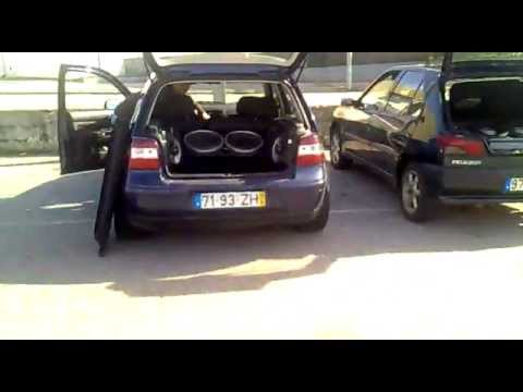golf iv 2 subwoofer pioneer youtube. Black Bedroom Furniture Sets. Home Design Ideas