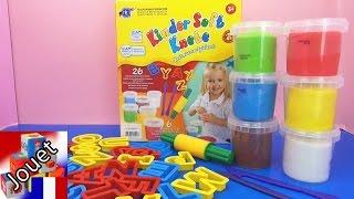ABC en pâte à modeler pour les enfants – Démo apprendre l'alphabet avec la pâte à modeler