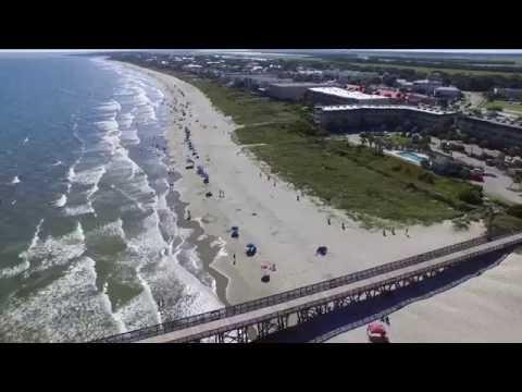 Isle of Palms South Carolina USA Phantom 3 Drone