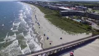 Isle of Palms South Carolina USA Phantom 3 Drone