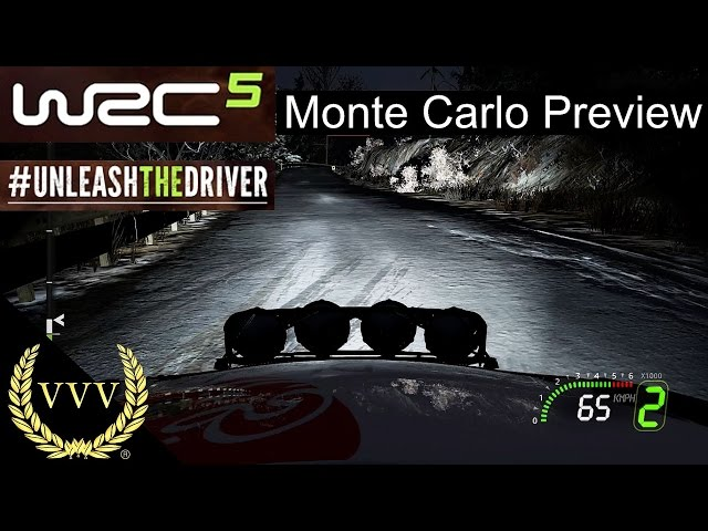 WRC 5 Gameplay Preview Part 5 Monte Carlo