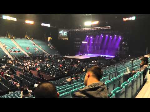 111126 Our Seats For KPOP MASTERS @ MGM Grand Garden Arena, Las Vegas