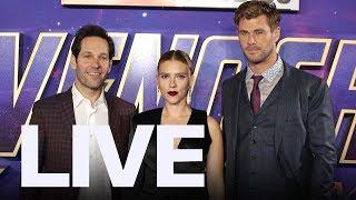 Chris Hemsworth, Scarlett Johansson Step Out For 'Avengers: Endgame'