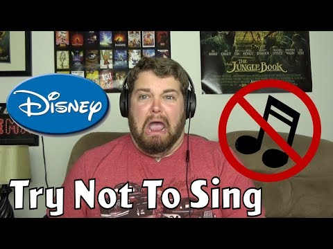 Try Not To Sing Challenge: Disney Edition