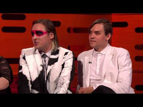 Arcade Fire chat with Graham Norton