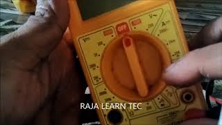 HOW TO CHECK NI  CAD BATTERY RAJA LEARN TEC PLEASE SUBSCRIBE