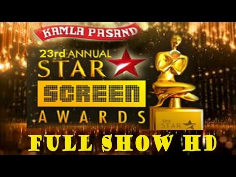 Star Screen Awards 2016 Full Show | Red Carpet | 23rd Star Screen Awards 2016 HD