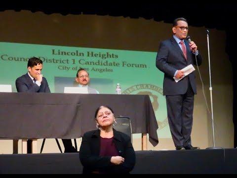 Los Angeles City Council District 1 Candidate Forum 2017 Episode 2