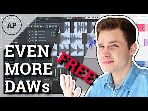 Even More Free DAWs For Music Production