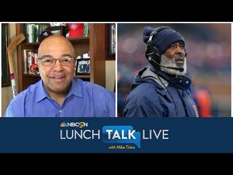 Illinois coach Lovie Smith proud of diversity in coaching staff (FULL INTERVIEW) | NBC Sports