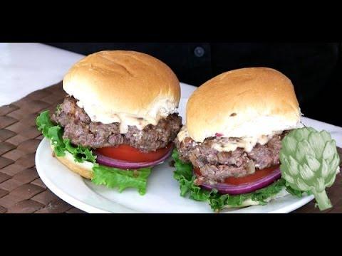 A Healthy Burger? Marlene Koch Has the Answer | Potluck Video