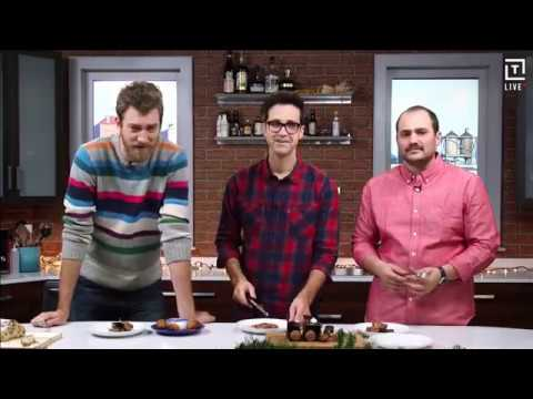 Rhett & Link: International Holiday Dessert Taste Test (with Thrillist)