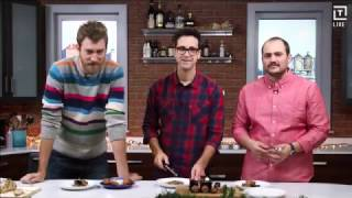 Rhett & Link: International Holiday Dessert Taste Test (with Thrillist)