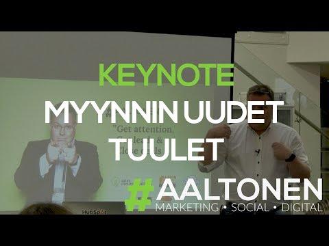 #Aaltonen Extra - Jani Keynote: HubSpot User Group (HUG Helsinki): Myynnin uudet tuulet