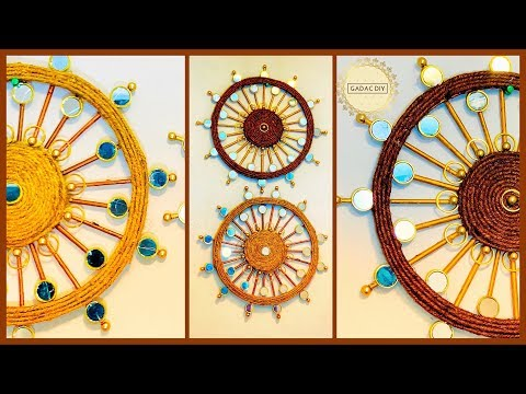 How to make a wall hanging| gadac diy| wall hanging craft ideas| diy crafts| wall decoration ideas