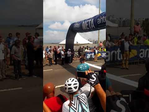 Llegada de la Vuelta Ciclista del Uruguay 2018- Etapa 10, Minas-Montevideo