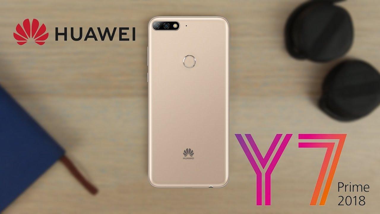 dd9336296 Huawei Y7 Prime 2018 review | كاميرتين وبصمة وجه وفلاش للسيلفي - YouTube