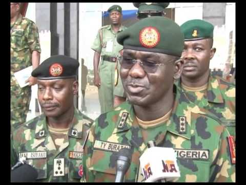 Image result for Chief of Army Staff NIGERIA