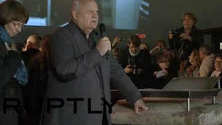 Gorbachev at Berlin Wall fall 25th Anniv: When Russia & Germany friends, Europe is at peace