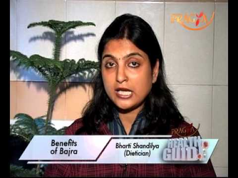 Health benefits of Bajra(Pearl Millet)-Nutrition Facts By Dr.Bharti Shandilya(Dietitian)