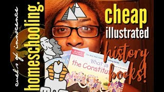 ╰☆╮SUPER Cheap Illustrated History Books! Homeschool Resources | Uncaged Learning