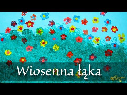 Stemplowana łąka - prace plastyczne - YouTube