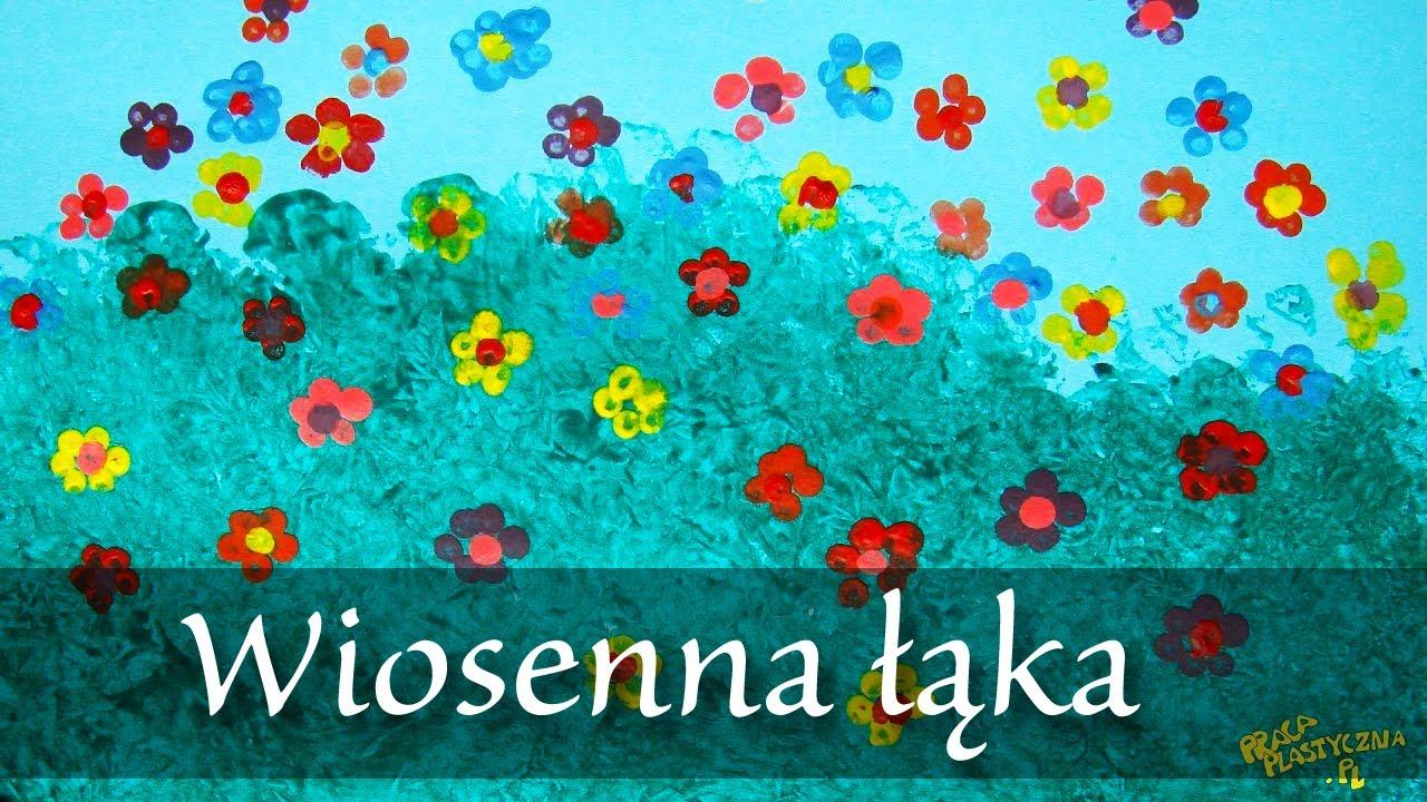 Znalezione obrazy dla zapytania: wiosenna łąka praca plastyczna
