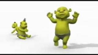 Baby shrek dancing teach me how to dougie