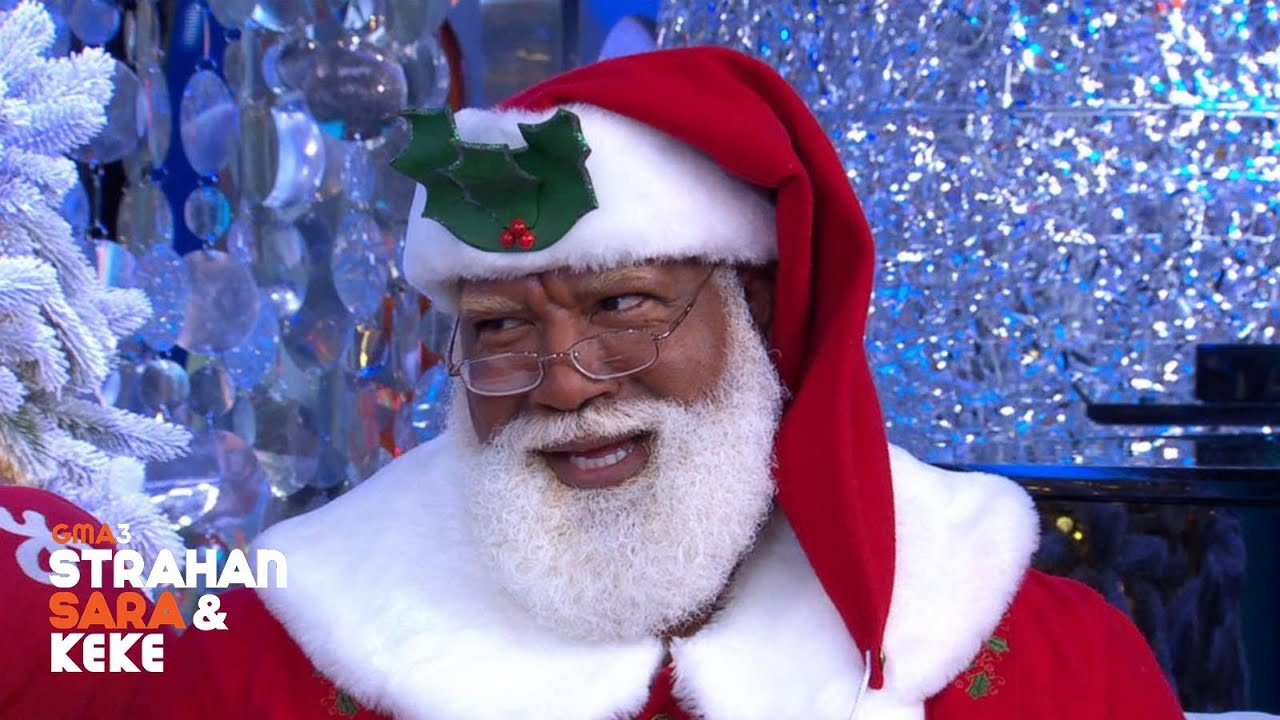 Meet The 1st African American Santa Claus At Mall Of America