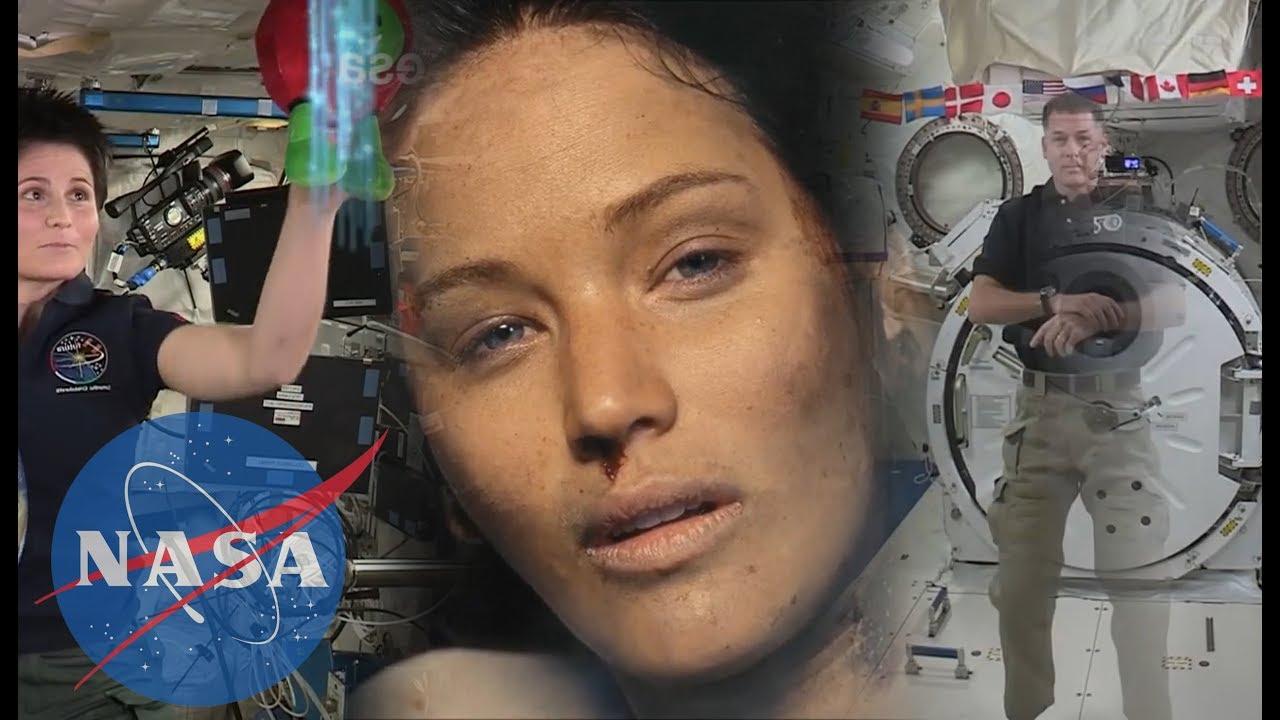 HOLLYWOOD NASA / NASA TRICKS - MASK LAYER AND GREENSCREEN