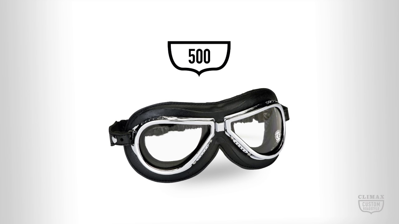 26803275f Vintage moto okuliare Climax 501 - inSPORTline