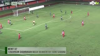 Highlight PSS Sleman vs PDRM FA | Coppa Sleman 2018