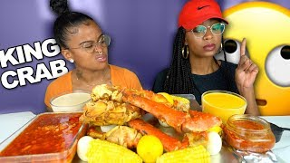 KING CRAB MUKBANG WITH FOUR SAUCES + MORE THINGS WE CAN'T STAND ABOUT EACH OTHER!