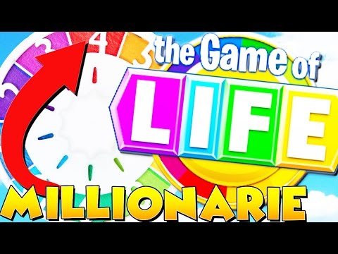 HOW TO MAKE $1,000,000 - THE GAME OF LIFE (Board Game)